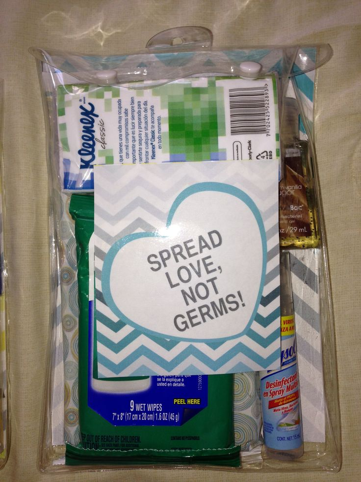 """My """"Germophobic Mom Survival Kit"""". With two kids under 3"""