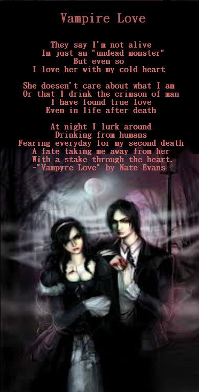49 Best Vampire Poems Images On