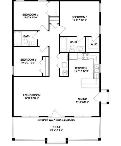 Cottage Layouts Plans Amazing House Plans