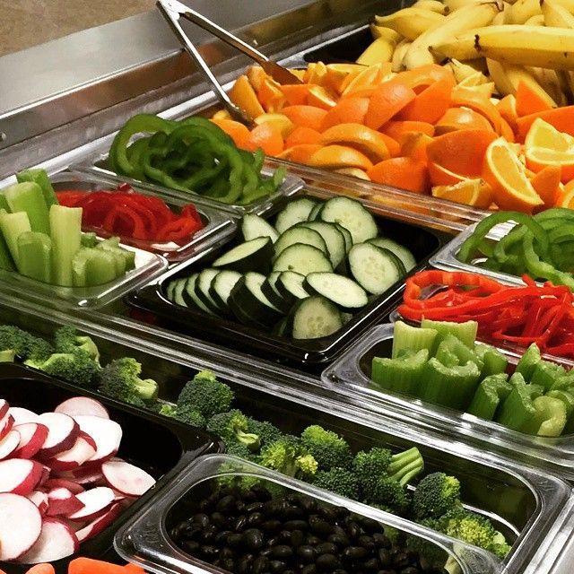 Fruit + veggie bars, like this one in South Washington