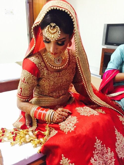 Indian bridal looks: punjabi bride