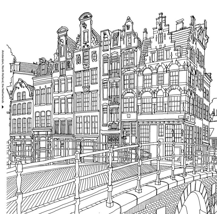 1000 images about buildings on pinterest coloring pages