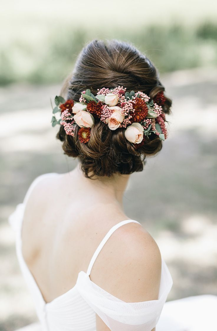 78 Ideas About Bridal Hair Flowers On Pinterest