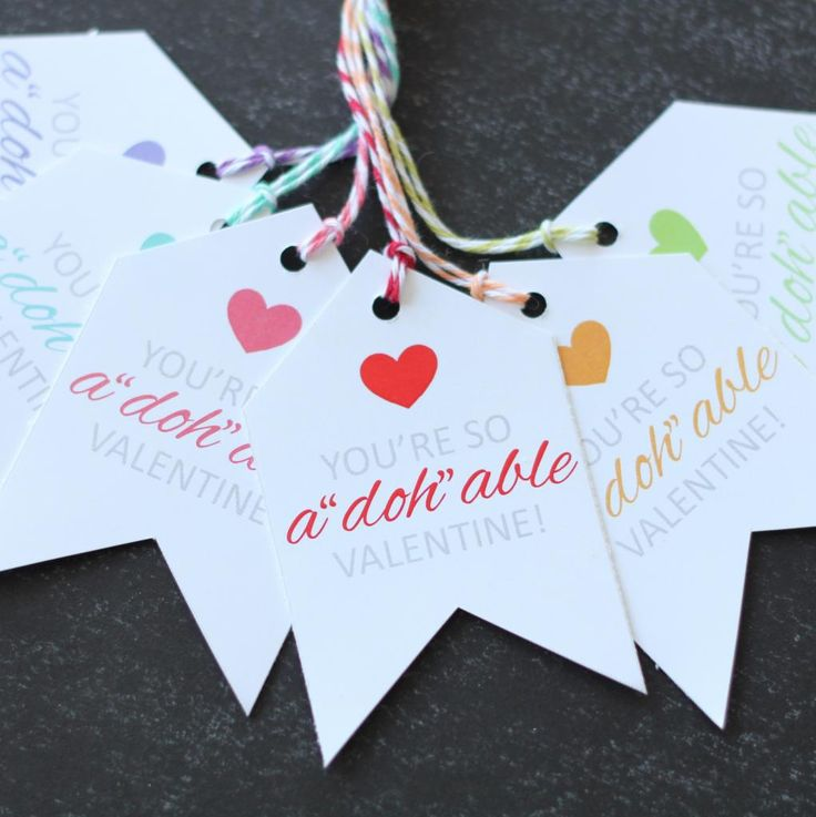 Adohable Valentine Printable Tags The Twinery Use With