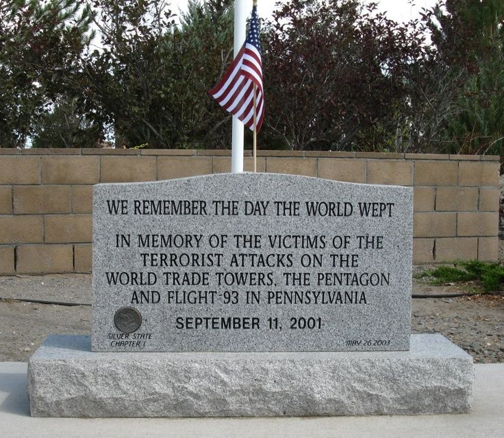 September 11, 2001 Memorial Never Pinterest
