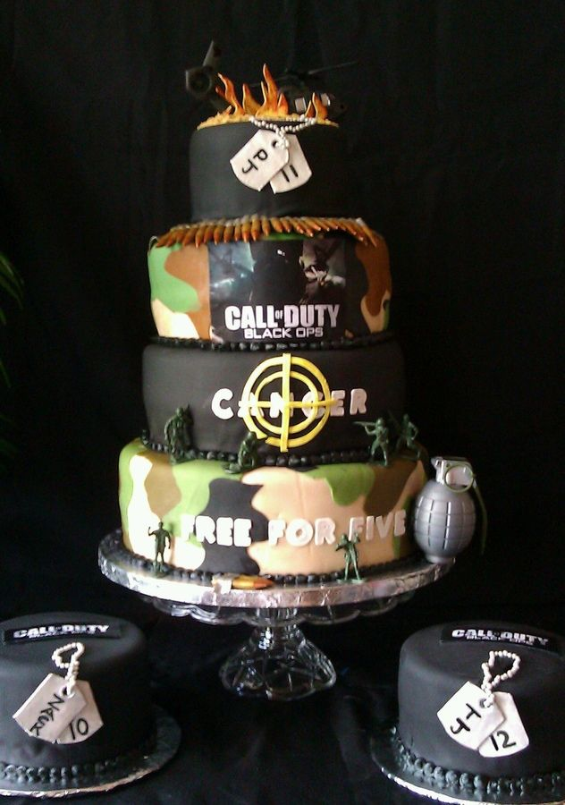 The Best Call Of Duty Cakes