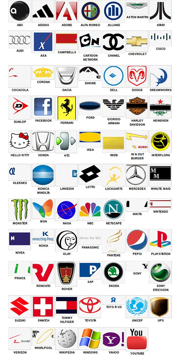 Logos Quiz Level 2 Answers solutions cheats Logos