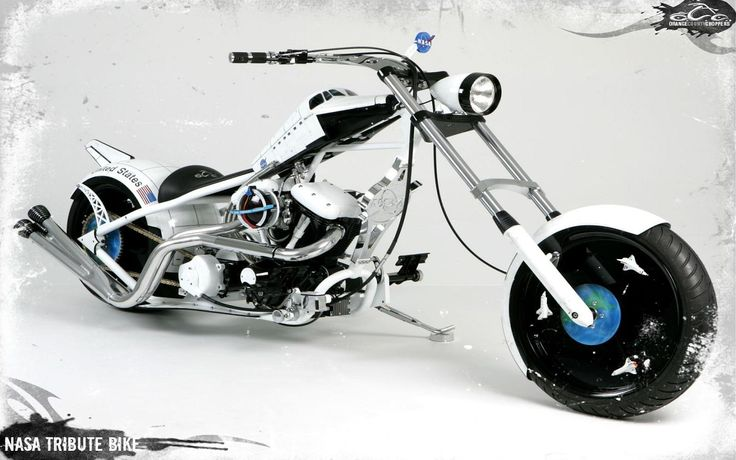 OCC NASA TRIBUTE BIKE OCC CUSTOM CHOPPERS