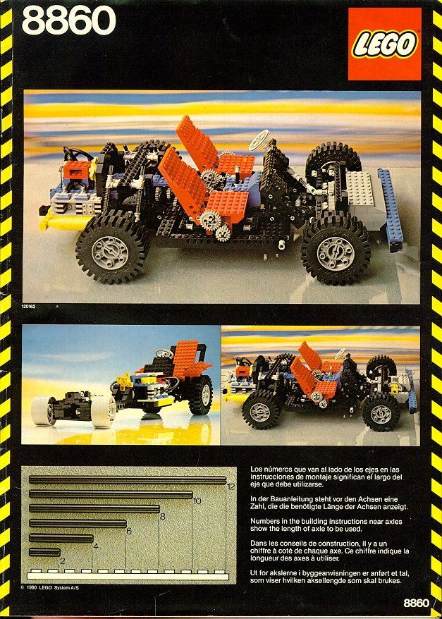 8860 Car Chassis Cars, Lego and Http//www