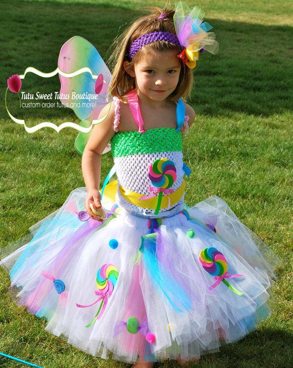 Candy Shop tutu setCandy Girl CostumeHalloweenBirthday