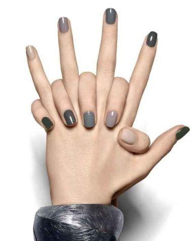 Y en caso de que tus habilidades artísticas en uñas no estén a la par... | 25 llamativos y minimalistas diseños de arte para las uñas