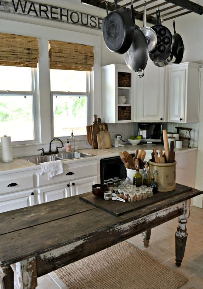 Cozy And Chic Farmhouse Kitchen Decor Ideas Country
