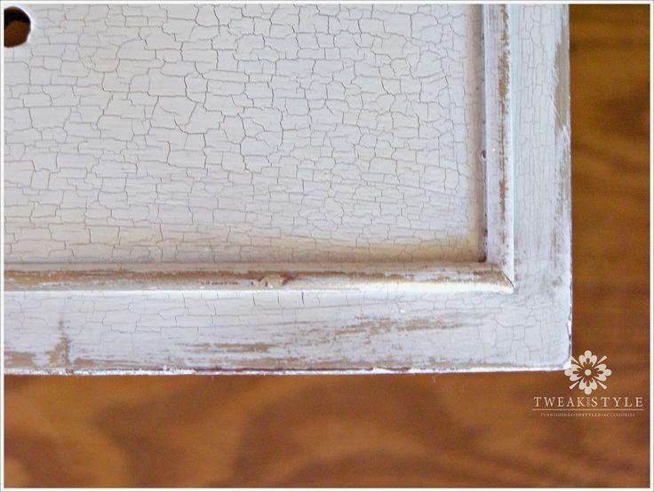 88 Best Images About Crackle Paint Furniture On Pinterest