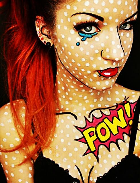 Pop Art for Halloween