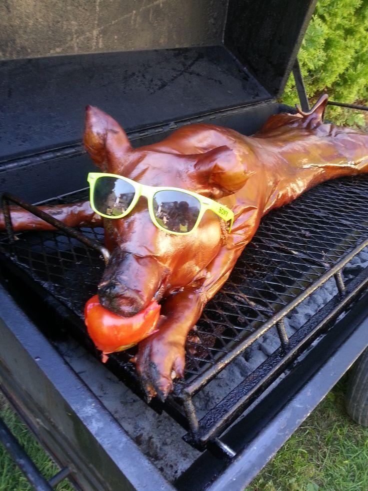 Pig Wedding Ideas Reception Roast