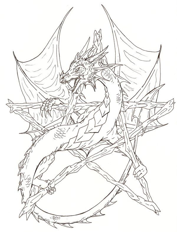 wiccan coloring pages  pentagram coloring pages picture