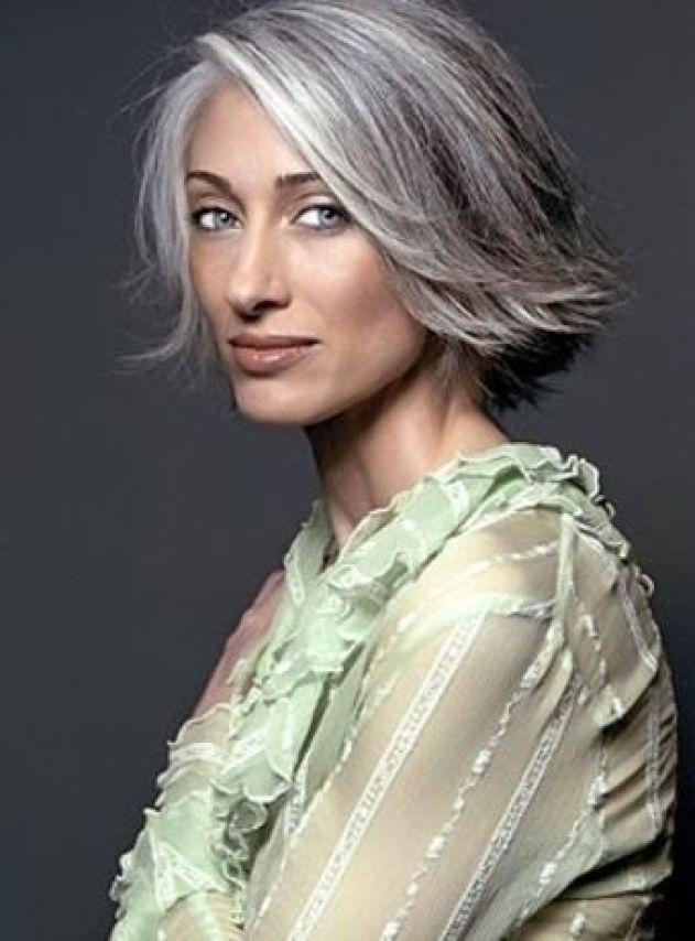 Friday Fun Stuff Rocking Gray Hair Amp Makeup Tips For