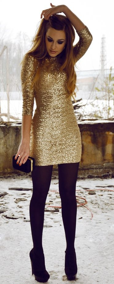 Holiday Party Look. So many New Years Dresses to choose from!