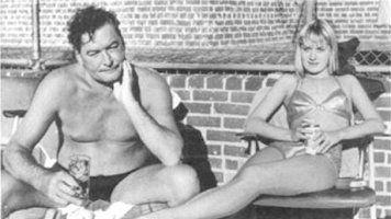 Errol Flynn and Beverly Aadland - late 1950's   Errol Flynn ...
