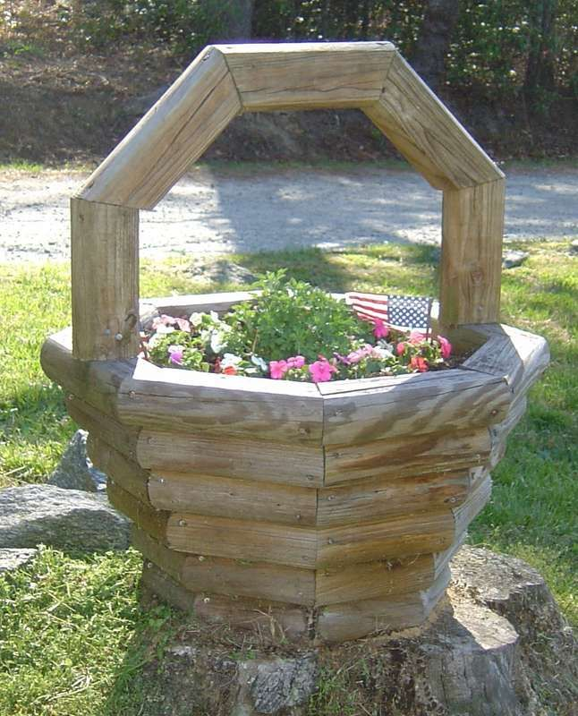 1000 Images About Wooden Planters On Pinterest Gardens