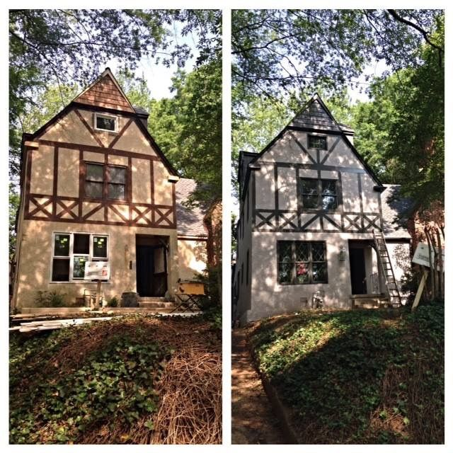 A New Exterior Color Scheme Tudor Revival Reno