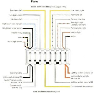 1965 VW Wiring Diagram | Volkswagen Wiring Diagrams