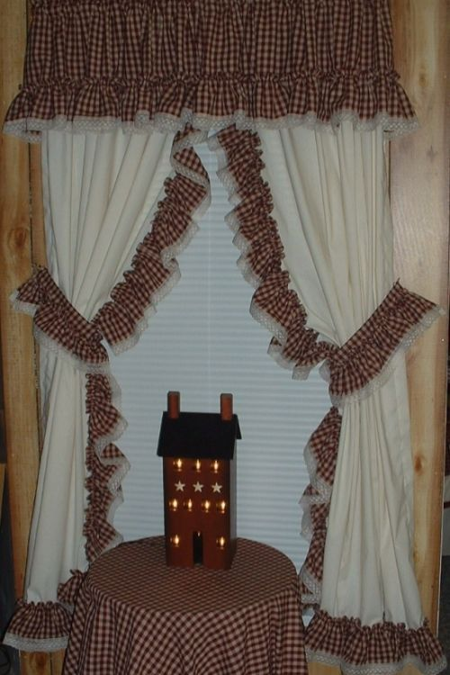 17 Best Images About Beautiful Country Ruffled Curtains On Pinterest Balloon Shades Window