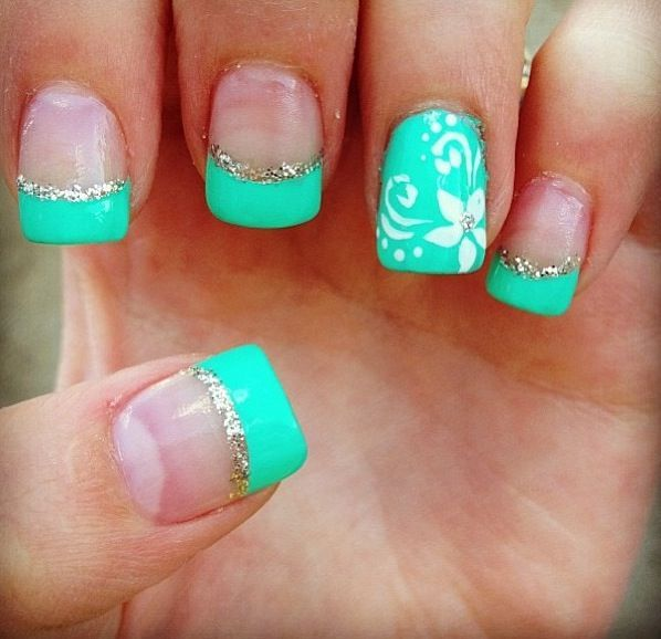 100 Beautiful and Unique Trendy Nail Art Designs