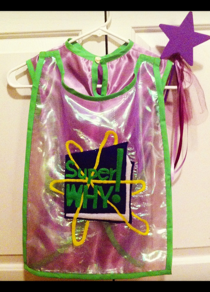 Handmade Princess Presto costume from PBS Super Why show