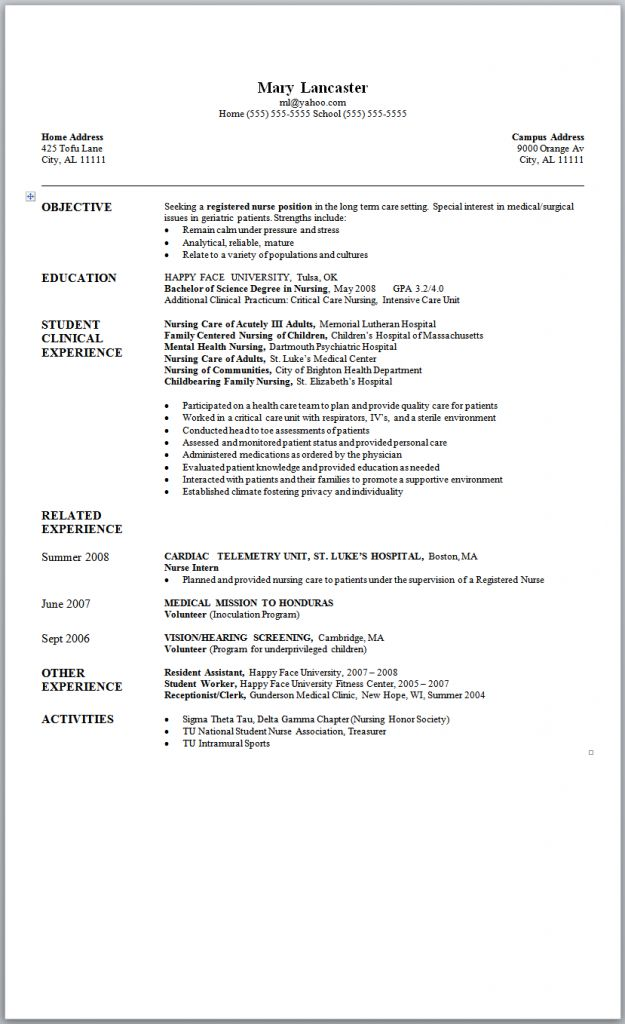 1000 ideas about rn resume on pinterest nursing resume new