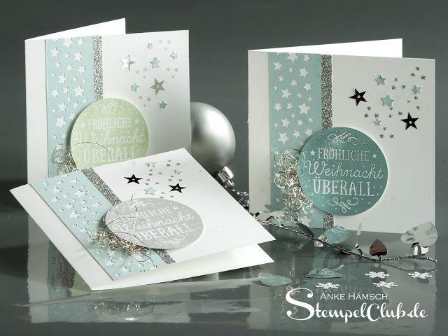 Adventskalender Weihnachtskarten Zwischen Den Zweigen