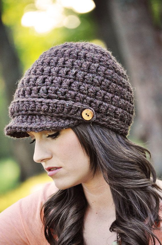 Crochet Pattern / Hat Pattern / Basic Newsboy Hat Pattern