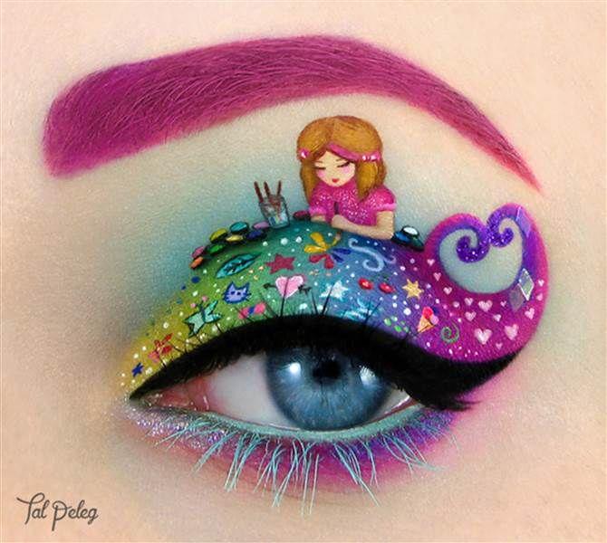 Eye Art Makeup Jidimakeup