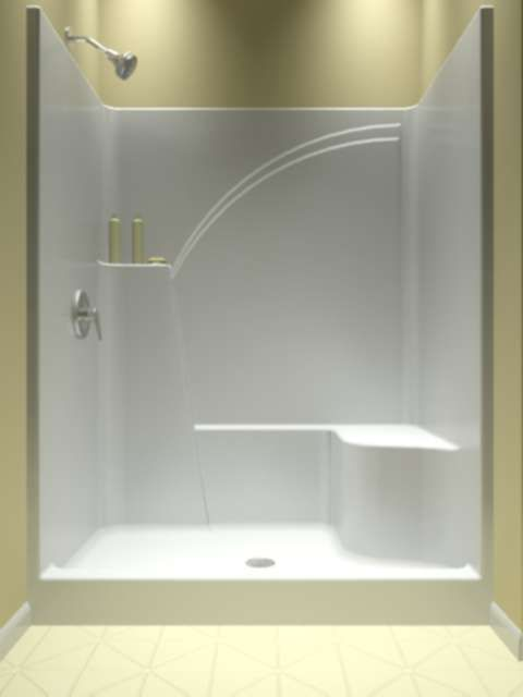 25 Best Ideas About One Piece Tub Shower On Pinterest