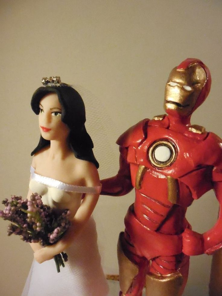 Wedding Cake Toppers Cake Toppers And Superhero On Pinterest
