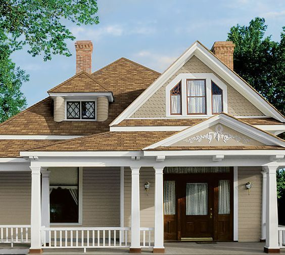 Front Shutters Black Roof Brick Portico Red And