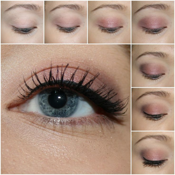 Urban Decay NAKED3 tutorial  1. Prime you eyelids and curl your eyelashes. 2. Apply Limit all over your lids. 3. Add Buzz to the