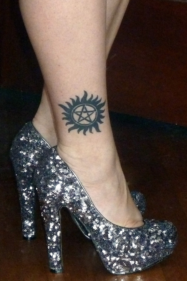 Yes, my Supernatural tattoo, just a wee bit obsessed