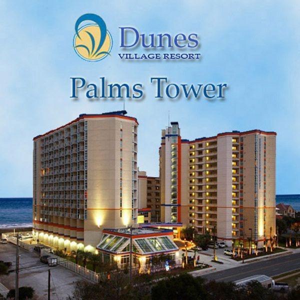 Dunes Village resort in Myrtle Beach. Two hugh indoor