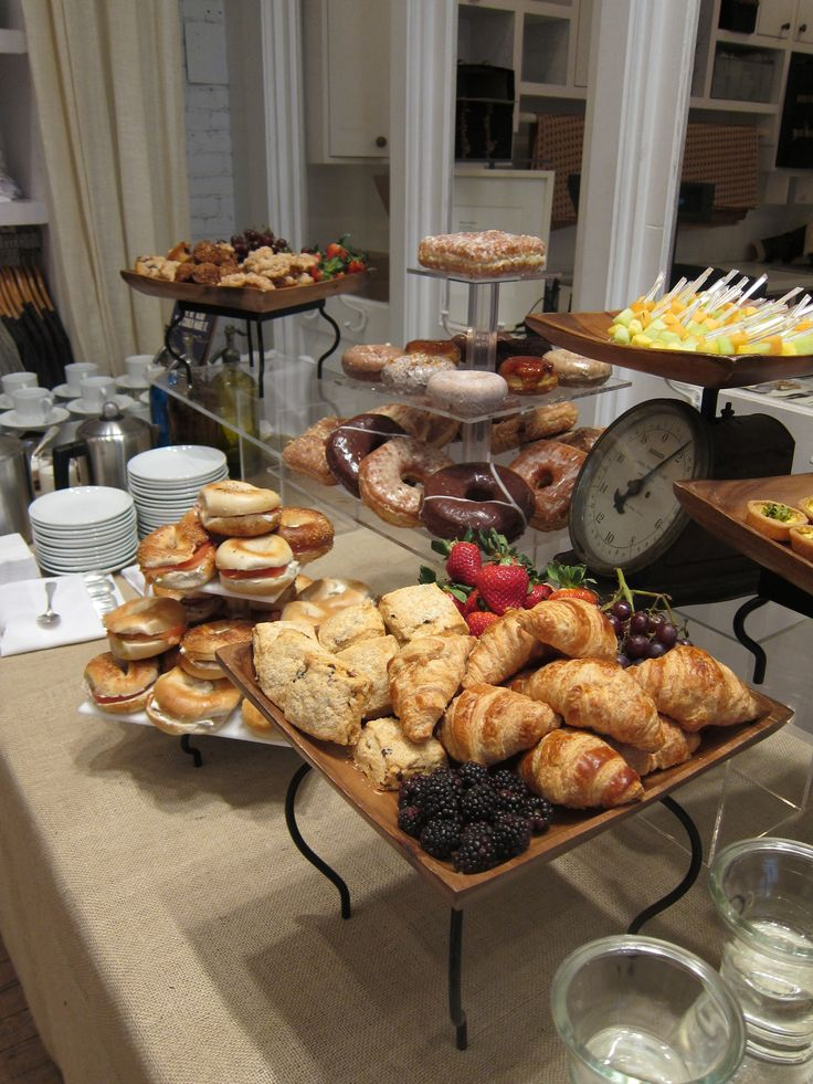 Breakfast stationMary Giuliani Catering & Events