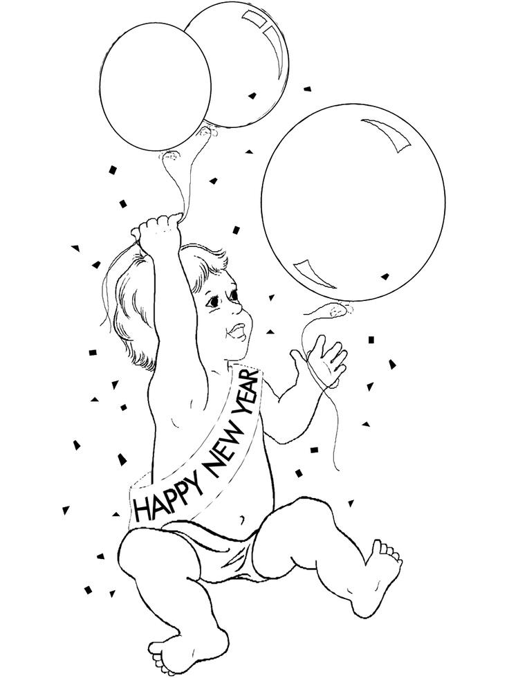 0 images about new year coloring pages on pinterest