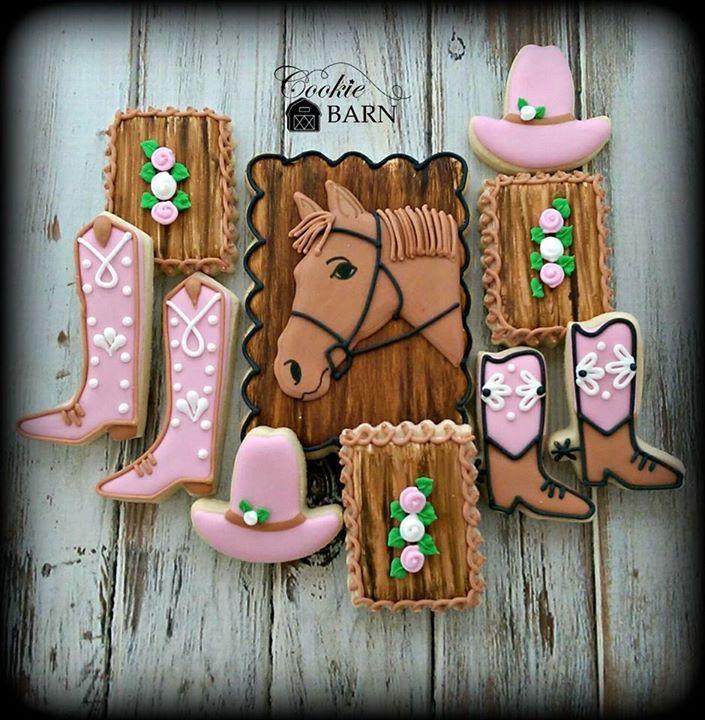 Girly Western Cookies Http Cookiecutter Com Cowboy Boot