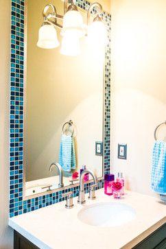 25 Best Ideas About Tile Mirror Frames On Pinterest