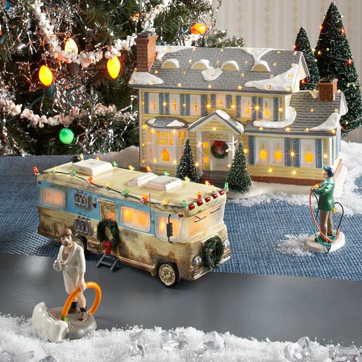 christmas camper scene Google Search Camping