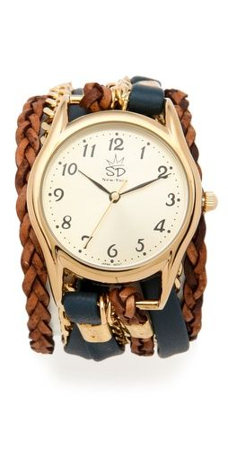 the bigger the watch head, the more chic it is.. the smaller the watch head, the