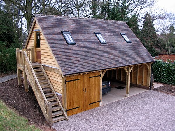 25 Best Ideas About Timber Frame Garage On Pinterest