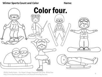 free worksheets fun winter worksheets math beginning skills 43 pages a color by number - Color Number Winter Worksheets