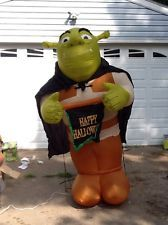 Airblown Inflatable Halloween Shrek The Ogre Christmas