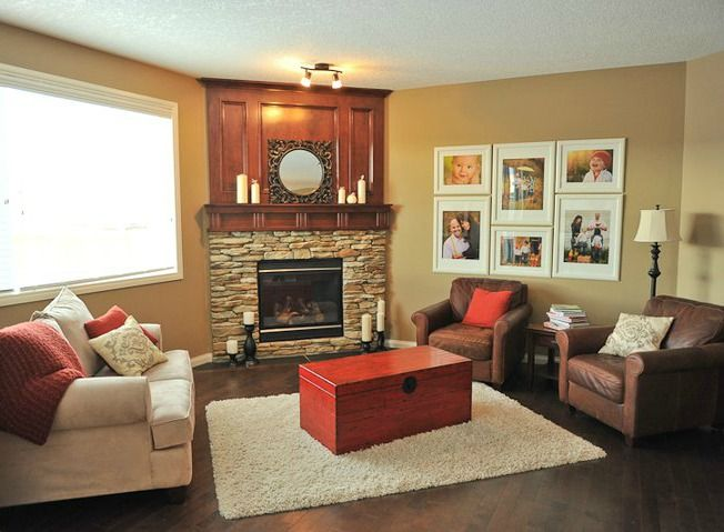 1000+ Images About Corner Fireplaces On Pinterest