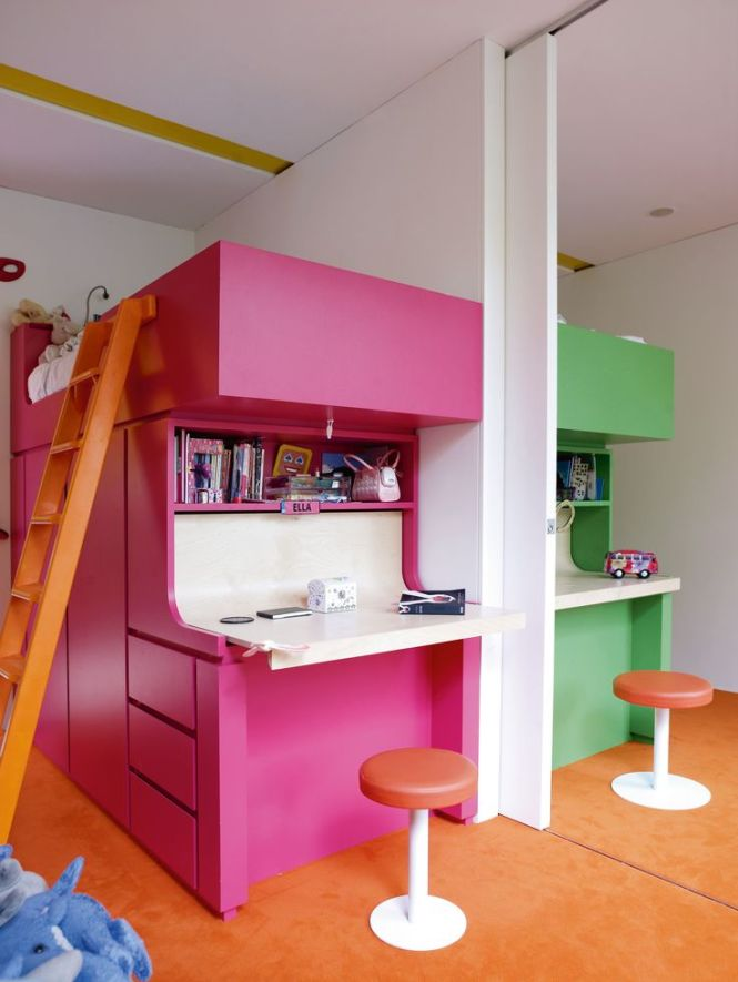 Interiors A Richard Rogers House Childrens Bedrooms